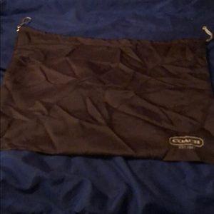 Authentic Coach dust bag (silk)